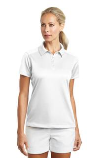 Nike Ladies Dri-FIT Pebble Texture Polo.-Nike