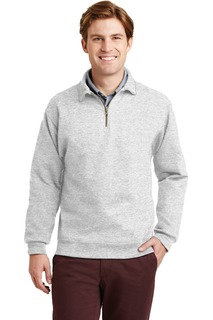 Jerzees SUPER SWEATS NuBlend - 1/4-Zip Sweatshirt with Cadet Collar.-