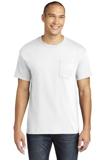 Gildan ® Heavy Cotton 100% Cotton Pocket T-Shirt.-