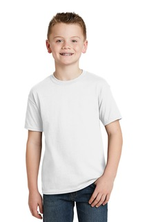 Hanes® - Youth EcoSmart® 50/50 Cotton/Poly T-Shirt.-