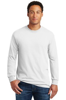 Gildan T-Shirts for Corporate Hospitality ® - Heavy Cotton 100% Cotton Long Sleeve T-Shirt.-Gildan