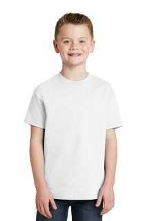 Hanes® - Youth Tagless® 100% Cotton T-Shirt.-SM_HA