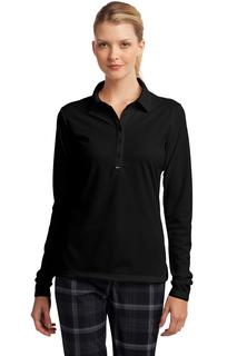 Nike Ladies Long Sleeve Dri-FIT Stretch Tech Polo.-Nike
