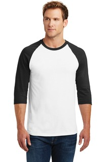 Gildan® Heavy Cotton™ 3/4-Sleeve Raglan T-Shirt.-Gildan