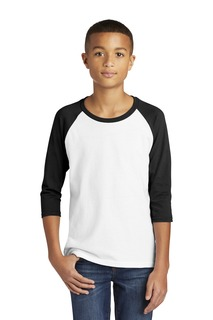 Gildan ® Heavy Cotton Youth 3/4-Sleeve Raglan T-Shirt.-Gildan