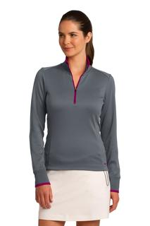 Nike Ladies Dri-FIT 1/2-Zip Cover-Up.-Nike