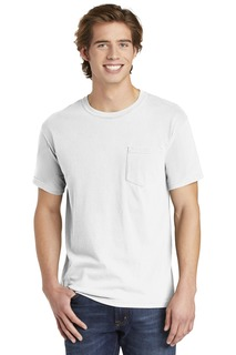 COMFORT COLORS ® Heavyweight Ring Spun Pocket Tee.-Comfort Colors