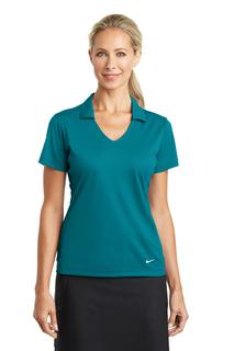 Nike Ladies Dri-FIT Vertical Mesh Polo.-