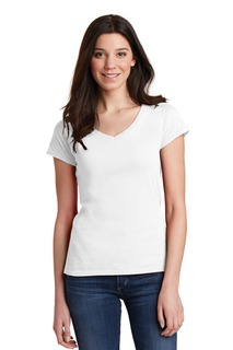 Gildan Softstyle® Junior Fit V-Neck T-Shirt.-Gildan