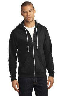 Anvil® Full-Zip Hooded Sweatshirt.-