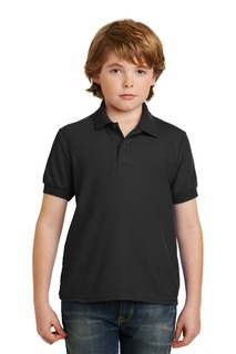 Gildan® Youth DryBlend® 6-Ounce Double Pique Sport Shirt.-Gildan