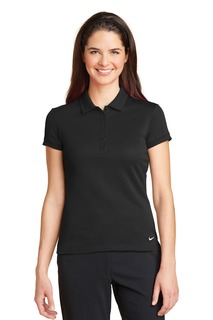 Nike Ladies Dri-FIT Solid Icon Pique Modern Fit Polo.-