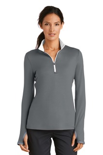 Nike Ladies Dri-FIT Stretch 1/2-Zip Cover-Up.-Nike