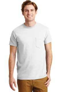 Gildan - DryBlend 50 Cotton/50 Poly Pocket T-Shirt.-