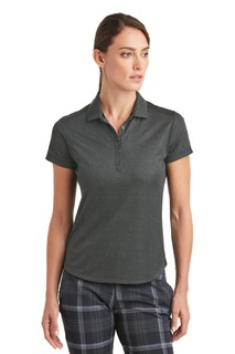 Nike Ladies Dri-FIT Crosshatch Polo.-Nike