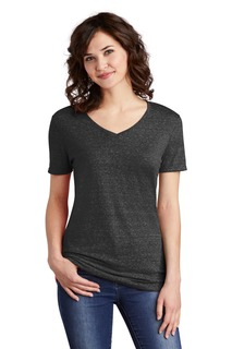 Jerzees ® Snow Heather Jersey V-Neck T-Shirt-Jerzees