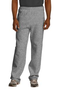 Jerzees NuBlend Open Bottom Pant with Pockets.-Jerzees
