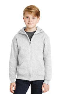Jerzees® - Youth NuBlend® Full-Zip Hooded Sweatshirt.-Jerzees