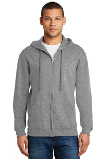 Jerzees - NuBlend Full-Zip Hooded Sweatshirt.-