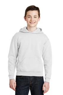Jerzees Hospitality Outerwear Mens Jerzees® - Youth NuBlend® Pullover Hooded Sweatshirt.-Jerzees