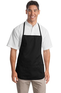 Port Authority® Medium-Length Apron.-Port Authority