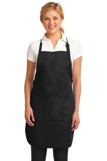 Port Authority® Easy Care Full-Length Apron with Stain Release.-Port Authority