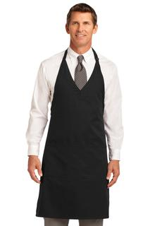 Port Authority® Easy Care Tuxedo Apron with Stain Release.-Port Authority