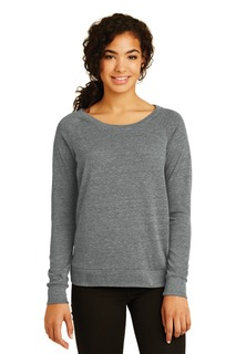 Alternative Womens Eco-Jersey Slouchy Pullover.-Alternative Apparel