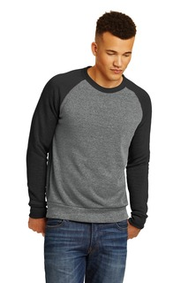 Alternative Champ Colorblock Eco-Fleece Sweatshirt.-Alternative Apparel