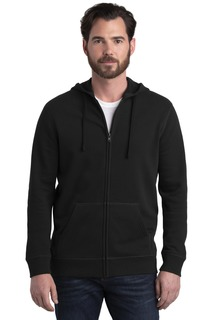 Alternative Indy Blended Fleece Zip Hoodie.-