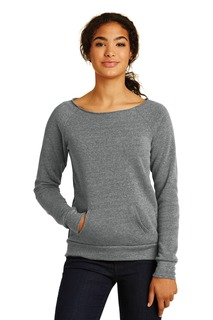 Alternative Womens Maniac Eco -Fleece Sweatshirt.-Alternative Apparel