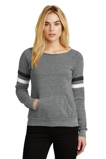 Alternative Womens Maniac Sport Eco-Fleece Sweatshirt.-