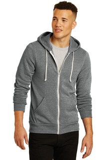 Alternative Rocky Eco-Fleece Zip Hoodie.-Alternative Apparel