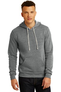 Alternative Challenger Eco-Fleece Pullover Hoodie.-Alternative Apparel