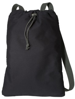 Port Authority® Canvas Cinch Pack.-Port Authority