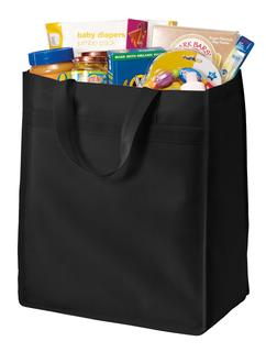 Port Authority® Standard Polypropylene Grocery Tote.-Port Authority