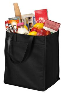 Port Authority® - Extra-Wide Polypropylene Grocery Tote.-