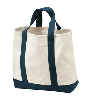 Port Authority® - Two-Tone Shopping Tote.-Port Authority