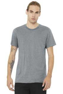 BELLA+CANVAS Unisex Heather CVC Short Sleeve Tee.-