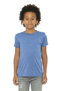 BELLA+CANVAS ® Youth Triblend Short Sleeve Tee.-Bella + Canvas