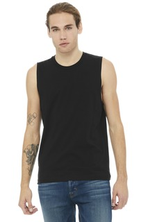 BELLA+CANVAS ® Unisex Jersey Muscle Tank.-Bella + Canvas