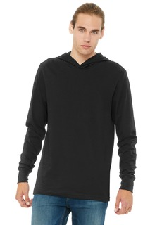 BELLA+CANVAS ® Unisex Jersey Long Sleeve Hoodie.-Bella + Canvas