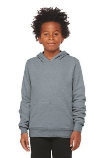 BELLA+CANVAS ® Youth Sponge Fleece Pullover Hoodie-Bella + Canvas
