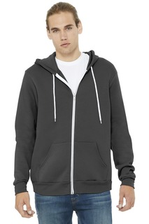 BELLA+CANVAS Unisex Sponge Fleece Full-Zip Hoodie.-
