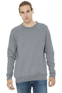 BELLA+CANVAS ® Unisex Sponge Fleece Raglan Sweatshirt.-