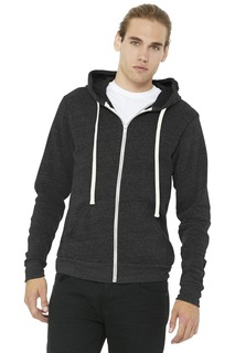 BELLA+CANVAS ® Unisex Triblend Sponge Fleece Full-Zip Hoodie.-
