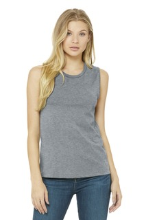 BELLA+CANVAS ® Jersey Muscle Tank.-Bella + Canvas