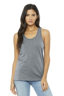 BELLA+CANVAS ® Jersey Racerback Tank.-Bella + Canvas