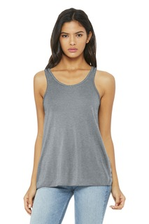 BELLA+CANVAS ® Womens Flowy Racerback Tank.-