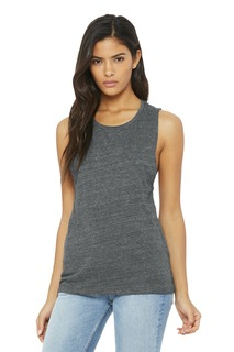 BELLA+CANVAS ® Womens Flowy Scoop Muscle Tank.-